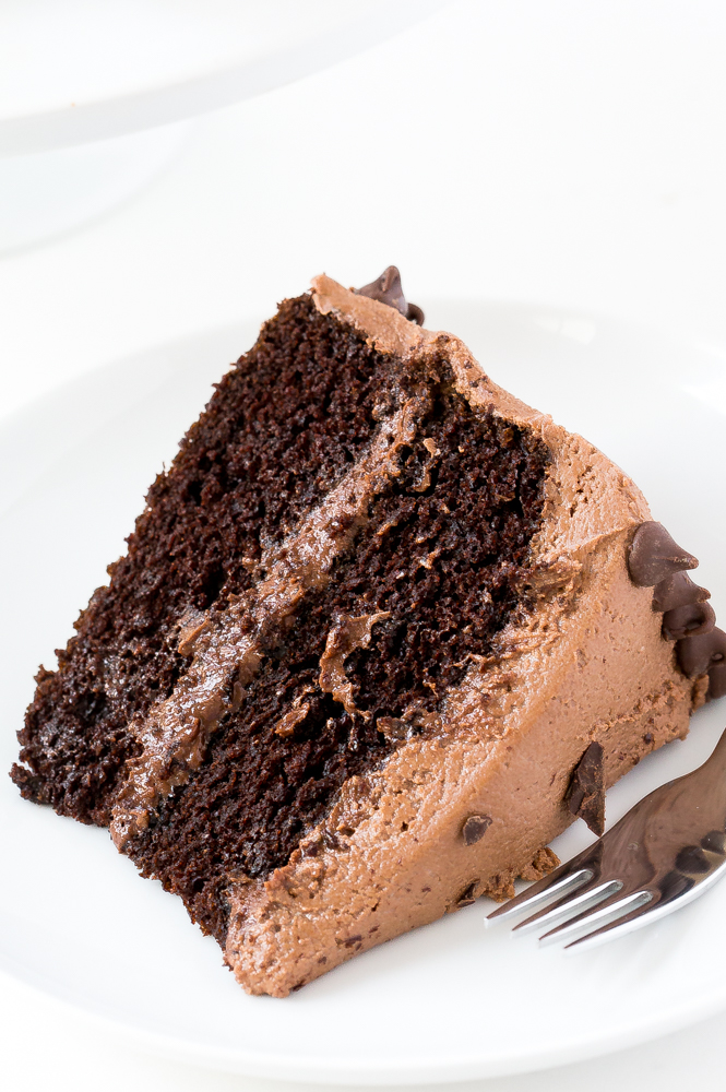 The Best Chocolate Cake | chefsavvy.com