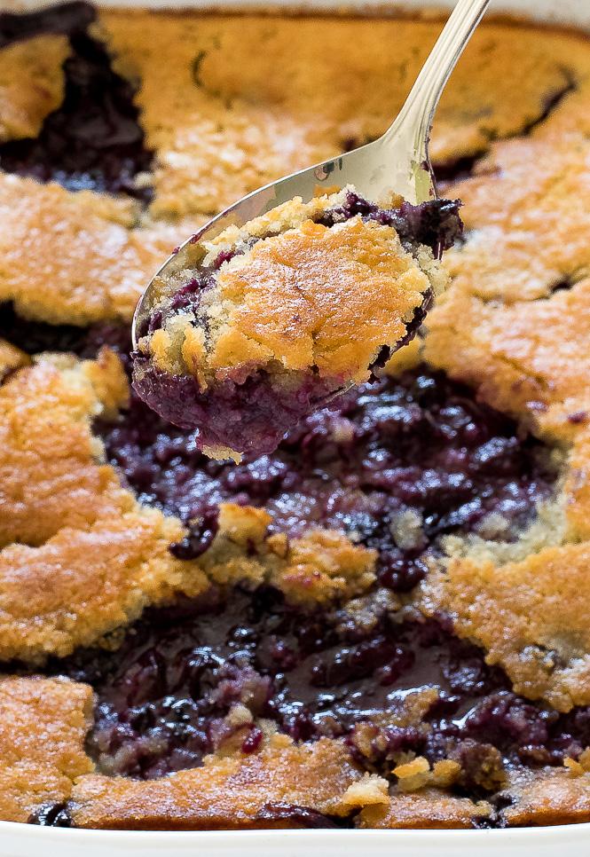 Blueberry Cobbler | chefsavvy.com