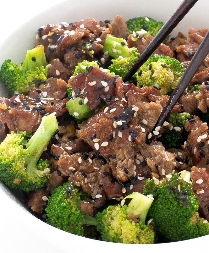 20 Minute Beef and Broccoli | chefsavvy.com