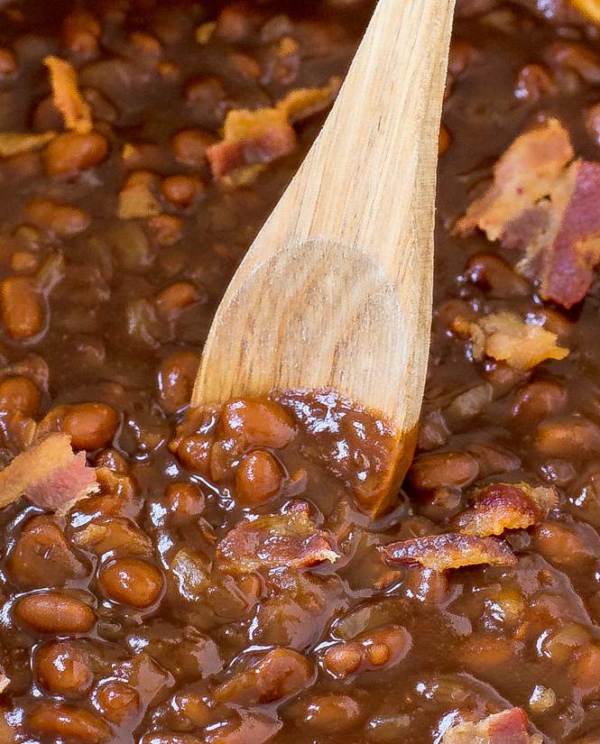Bacon Baked Beans | chefsavvy.com