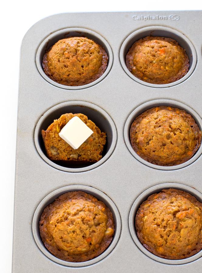 Carrot Cake Muffins | chefsavvy.com
