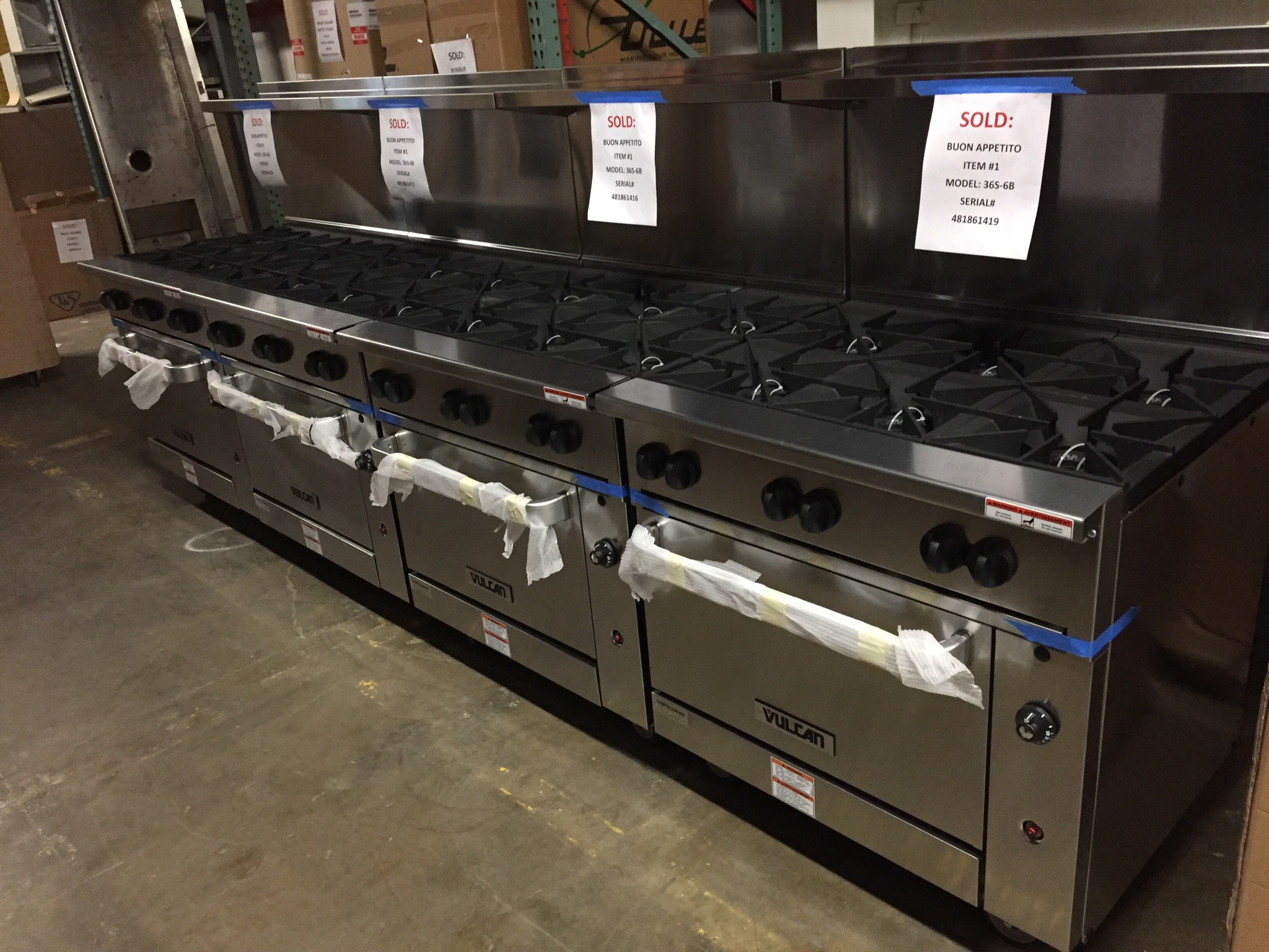 vulcan kitchen booth buon appetito bayonne nj gas manifold rebuild new cooking lineup