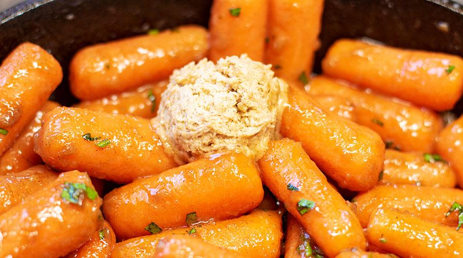 honey butter carrots