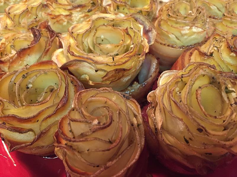 Chef Shamy Garlic Butter Potato Roses