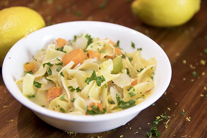 Detox Lemon Dill Soup Recipe