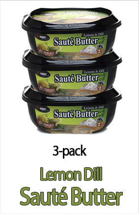 Lemon Dill Saute Butter