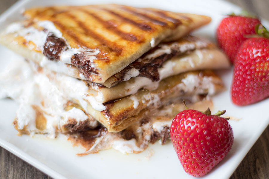 Strawberry Smore Quesadilla Recipe