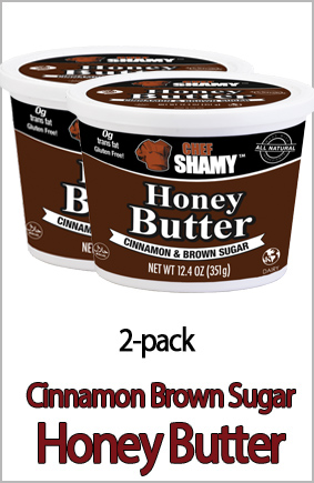 Cinnamon Brown Sugar Honey Butter