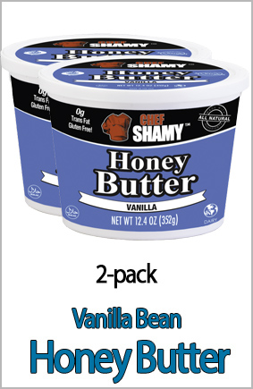 Vanilla Bean Honey Butter