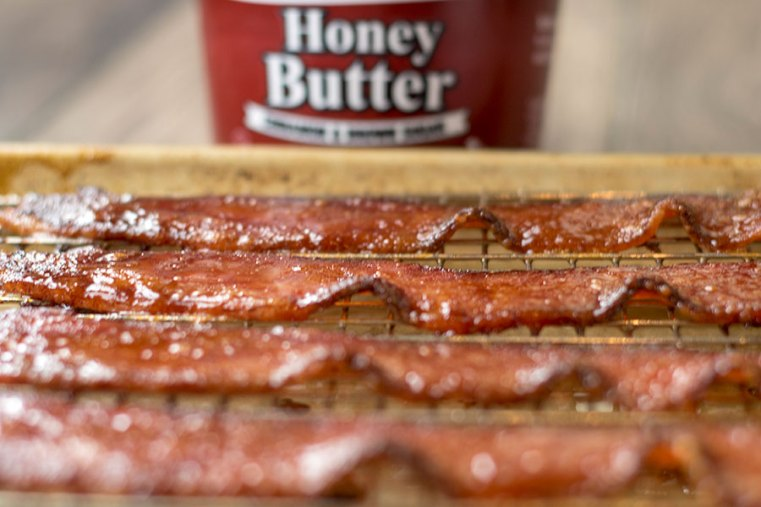 Cinnamon Candied Bacon
