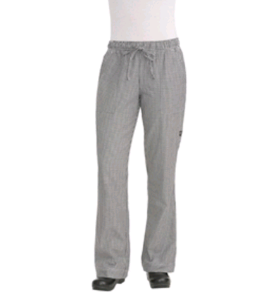 Womens Chefs Trousers Small Check