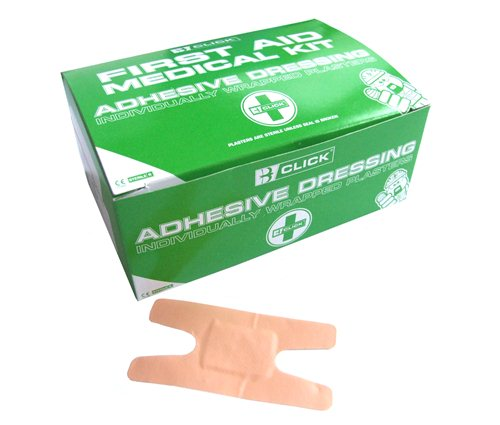 Washproof assorted plasters (pack of 100)