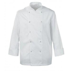 Chefs lightweight jacket, press studs
