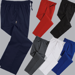Denny's unisex plain chefs trousers