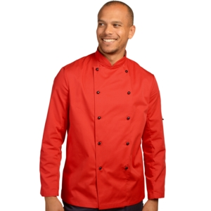 Long sleeve Technicolour Chefs Jackets (various colours)