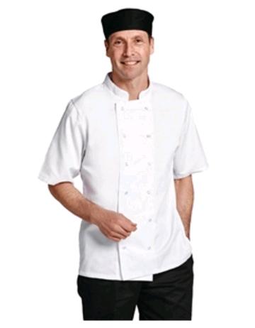 Boston Short Sleeve Jacket White