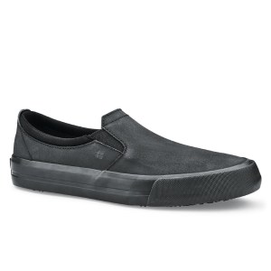 Shoes for Crews Ladies Leather Slip On
