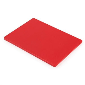 Low Density Chopping Board. Red for raw meat