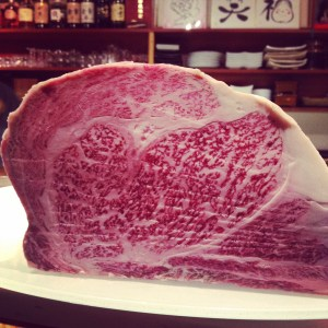 Japanese A5 Wagyu at Octopus' Garden was such an unexpected and luxe treat