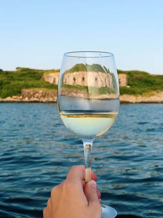 Sunset Wine Sail in Portland, Maine: Delicious Whites