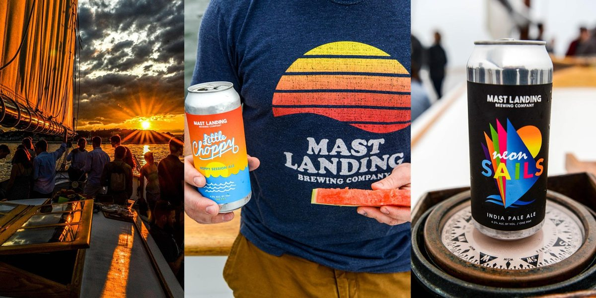 Sunset Beer and Oyster Cruise w/ Mast Landing Brewing