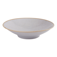Stone Footed Bowl 26cm - Pack of 6 - Chefs Tableware