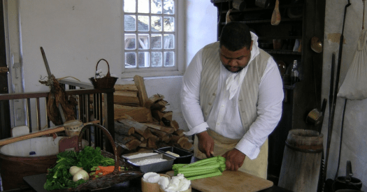chef and culinary historian michael twitty of the book the cooking gene