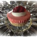 Mini No Bake Cherry Cheesecake