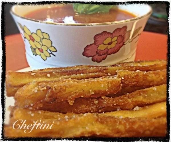 Eggplant Chili Fries