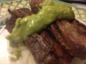 avocado pesto skirt steak 3