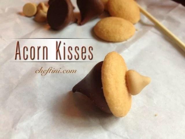 Kisses Acorn Treats