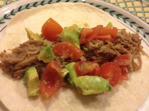 Tex Mex Pulled Pork Taco
