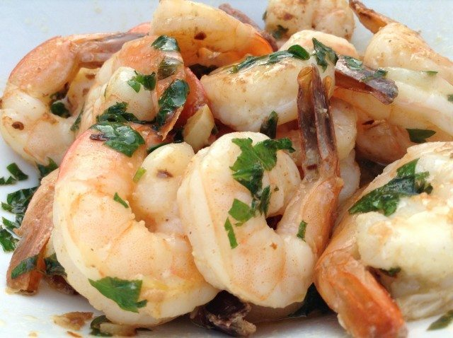 Quick Shrimp Arrabbiata