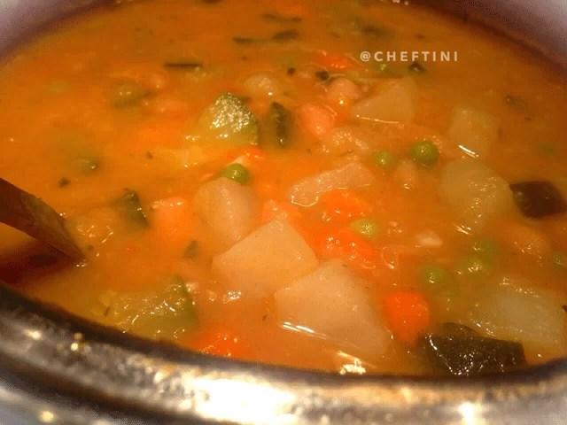 Cannelllini Bean Minestrone