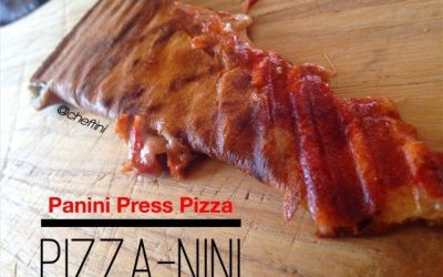 It's a Pizza-nini!