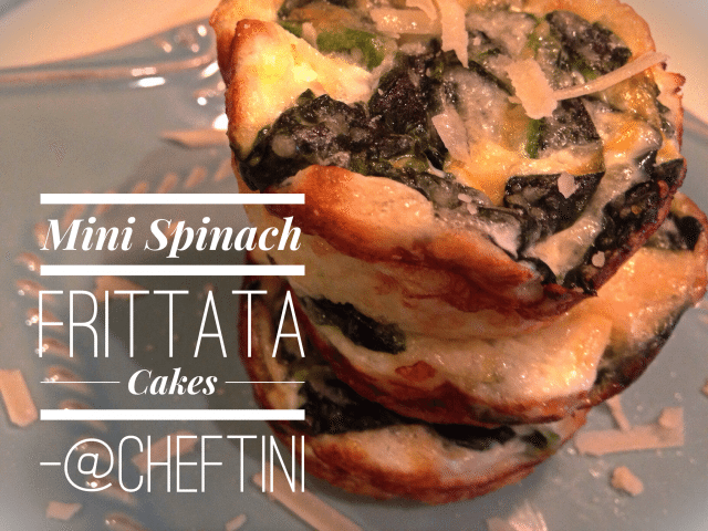 Spinach Frittata Cupcakes