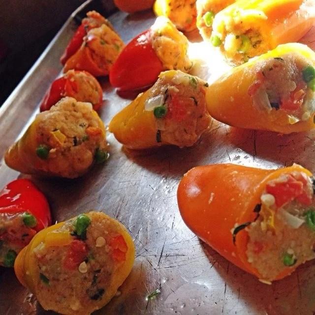 Mini Stuffed Peppers