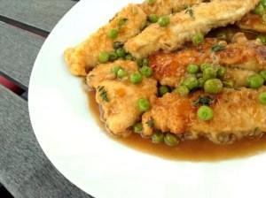 Chicken Tender Marsala