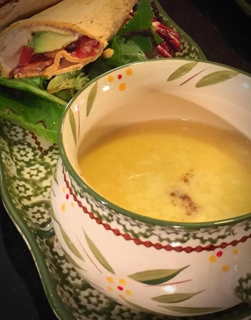 Cauliflower and Butternut Squash Soup