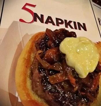 5 Napkin Burger in Ridge Hill