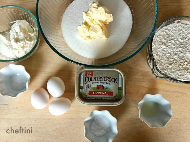 Country Crock Ricotta Cookies