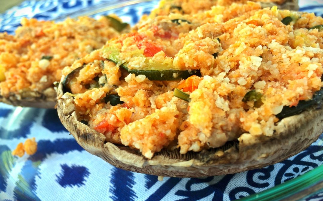 Summer Stuffed Portobello Mushrooms