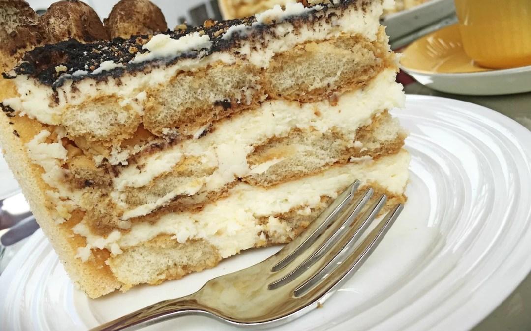Amaretto Tiramisu Cake