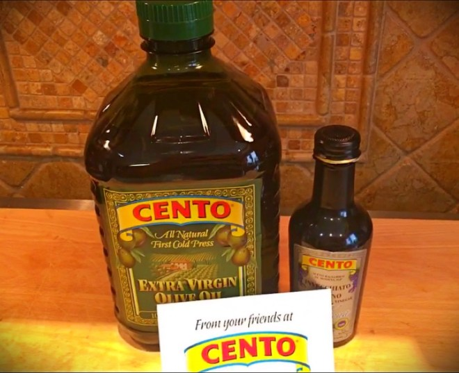 Olive Oil and Vinegar from Cento