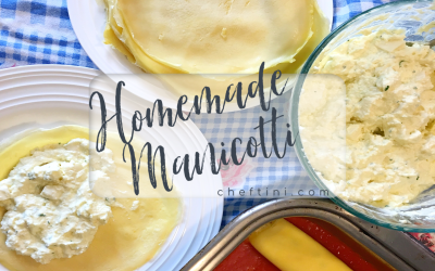 Homemade Manicotti Crepes