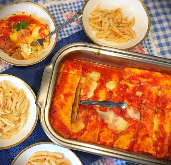 Homemade Manicotti Crepes