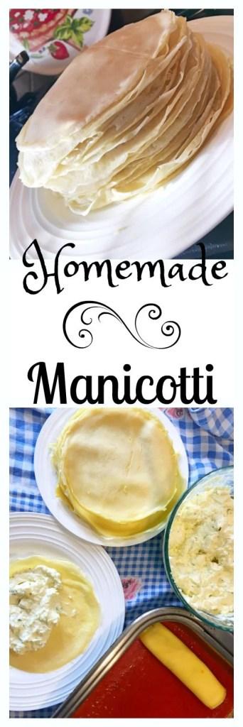 Authentic Italian Manicotti