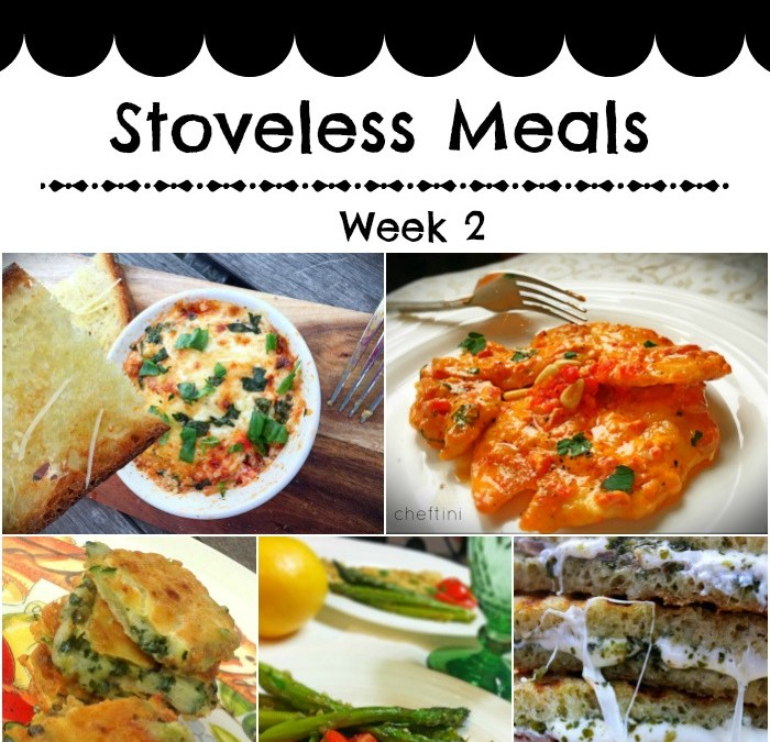 #Whatsfordinner Week 2 : Stoveless Meals