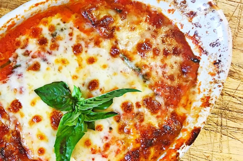 Individual Baked Zucchini Parmesan Casserole