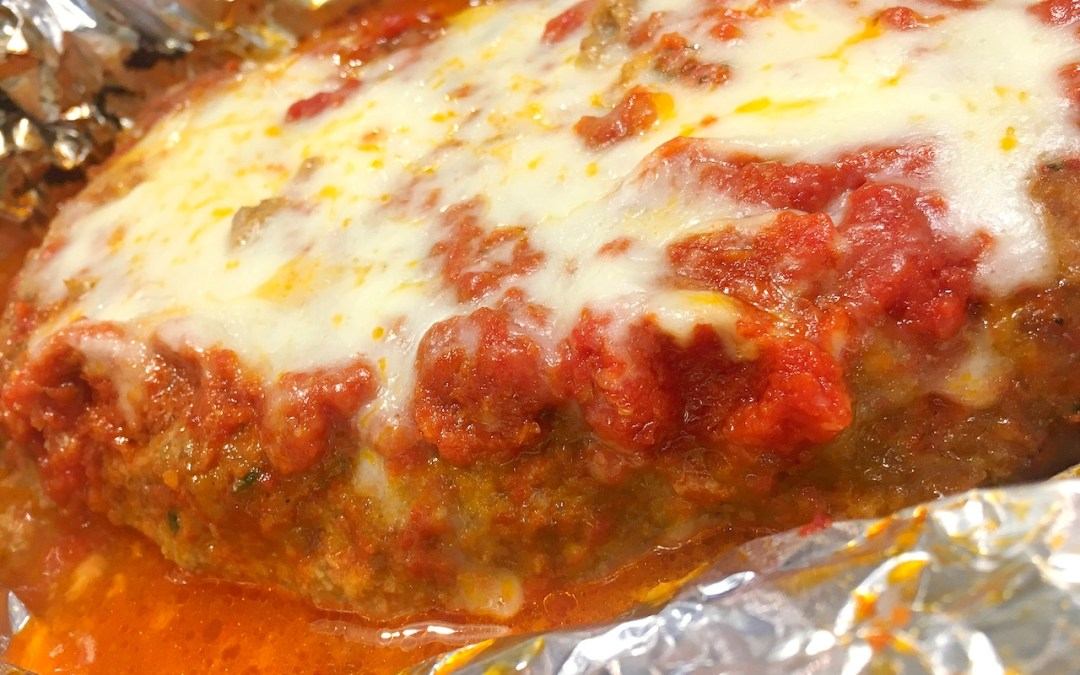 Ricotta Cheese Meatloaf Parmesan